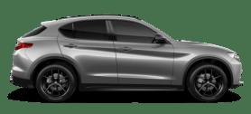 Alfa Romeo Stelvio Grey Side Exterior
