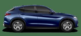 Alfa Romeo Stelvio Blue Side Exterior