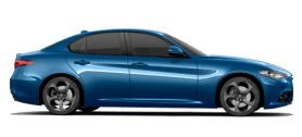 Alfa Romeo Giulia Blue Side Exterior