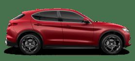 Alfa Romeo Stelvio Red Side Exterior