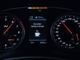 Hyundai i20 Driver Attention Alert (DAA)
