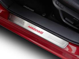 Mazda6 Illuminated Scuff Plate
