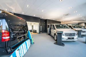 c8b1129201 Snows Mercedes-Benz Vans Exeter receives quality accreditation ...