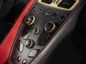 aston martin vanquish interior. rear silhouette while the volante version features a multilayered fabric roof over an aluminium and carbon fibre frame which can be concealed in its aston martin vanquish interior y