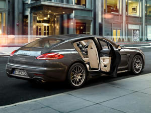 for true audiophiles the panamera offers the ability to specify the burmester high end surround sound system which offers 1000 watts of class leading