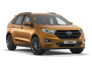 All New Ford Edge Zetec