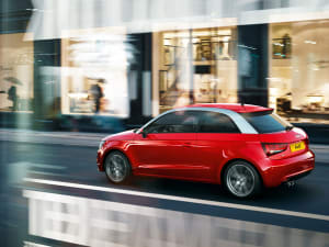What are some accessories for the Audi A1 convertible?