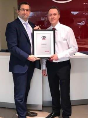 Tms Kia Wins The Family Like Care Award Tms Motor Group
