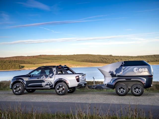Nissan Reveals Nissan Navara Dark Sky Concept