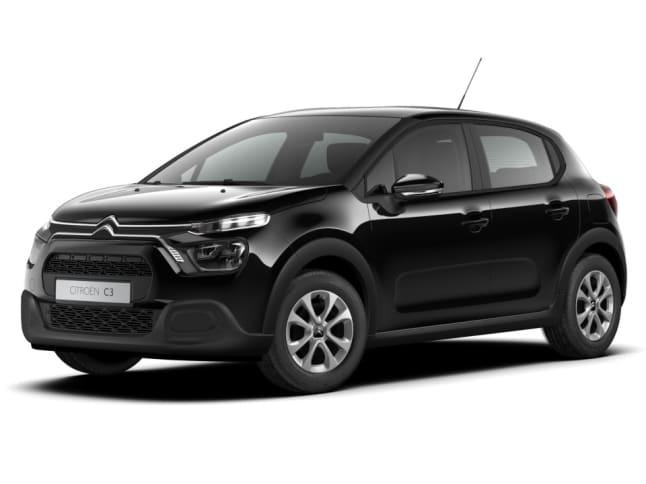 Nieuwe Citroën C3 zwart