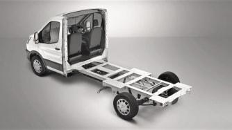 Transit Skeletal Chassis Cab