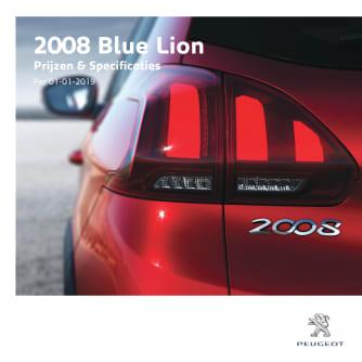 Prijslijst Peugeot 2008 Blue Lion