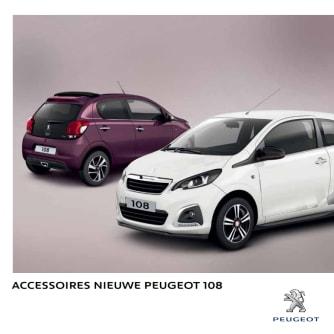 Brochure accessoires Peugeot 108