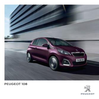 Brochure Peugeot 108