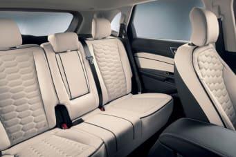 New Ford Edge Vignale Rear Seats