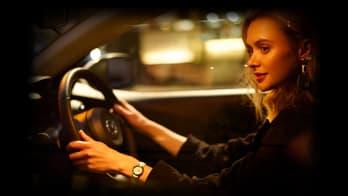 Mazda 2 Interior with woman driver