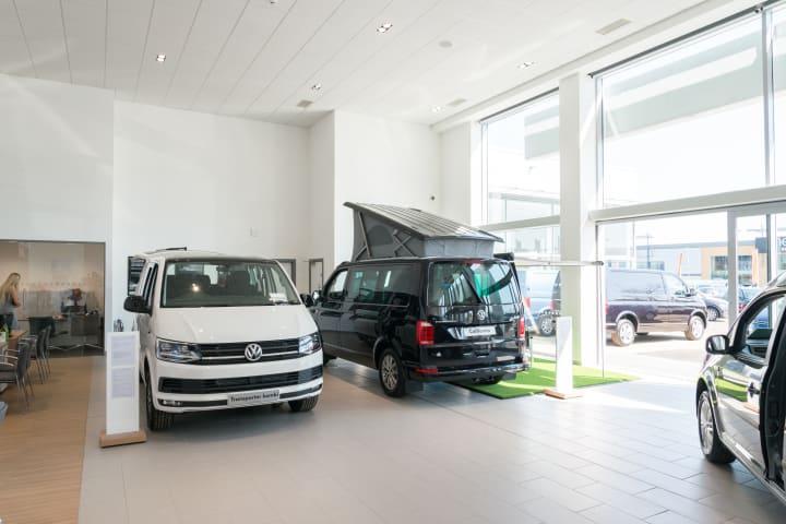Volkswagen Van Centre Dealership In Loughton Official Dealers