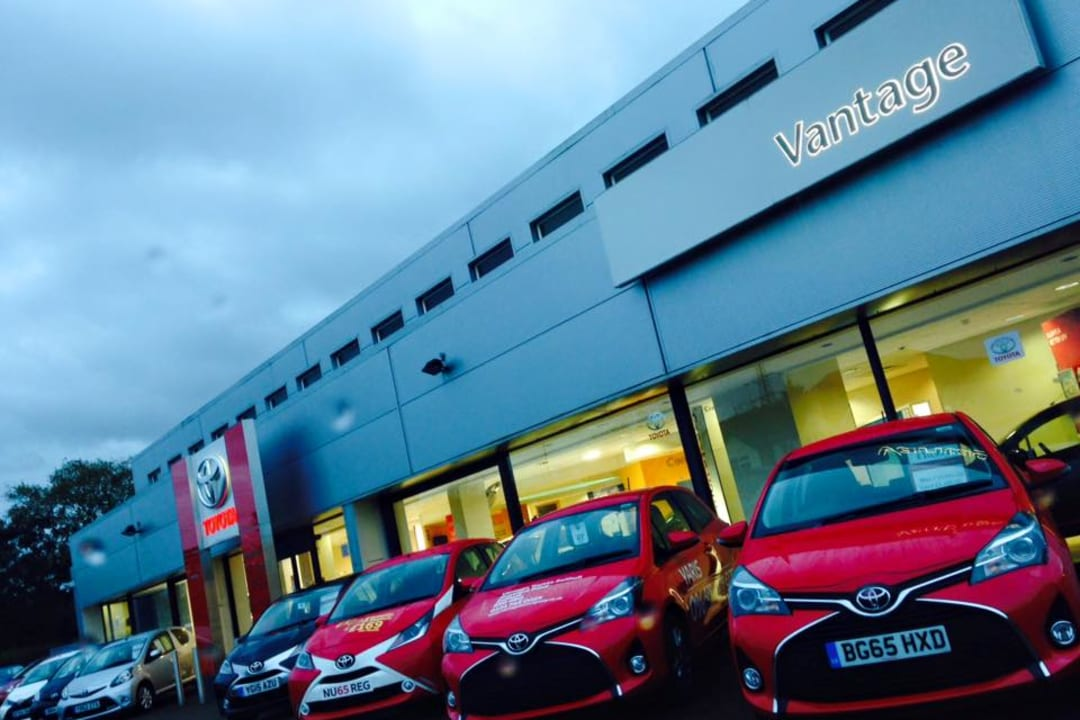 Contact Us In Solihull Vantage Toyota