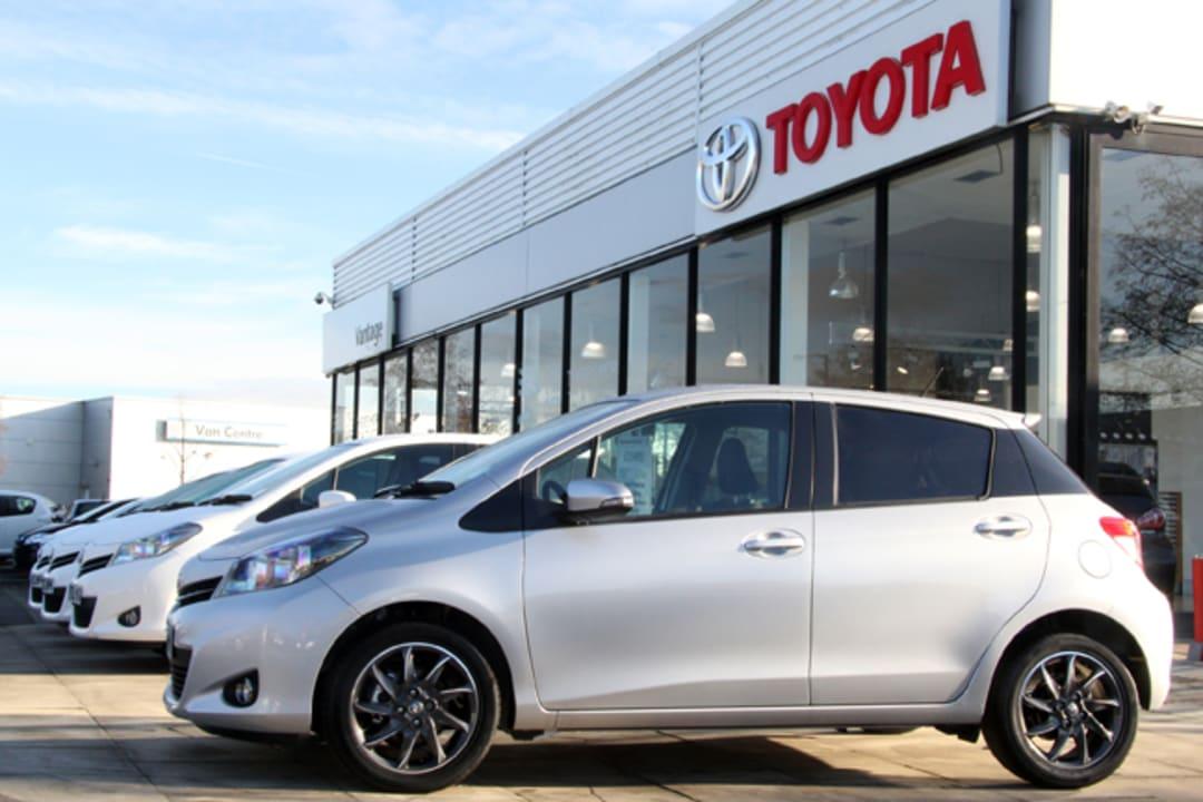 Contact Us In York Vantage Toyota