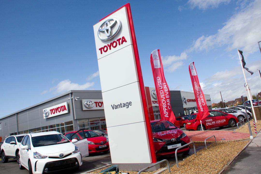 Contact Us In Morecambe Vantage Toyota