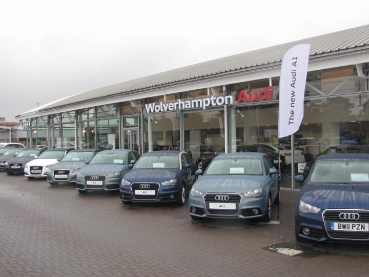 Car Dealers Wolverhampton >> Approved Audi Dealership In Wolverhampton Official Dealers