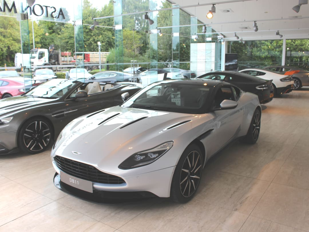 Aston Martin Dealership In Cambridge Official Dealers
