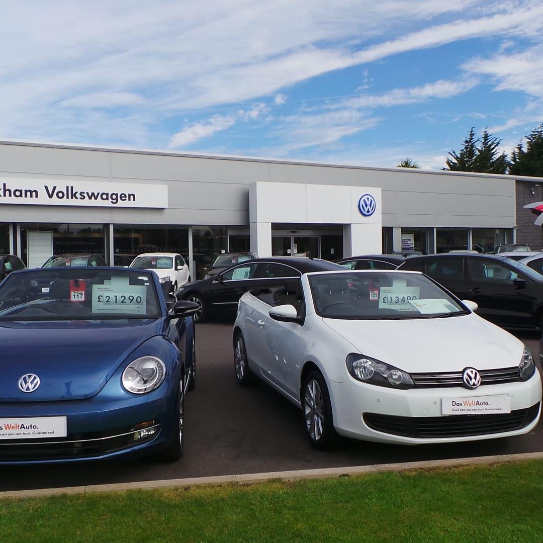 Volkswagen Dealers In Ga: Dane Motor Company Wrexham
