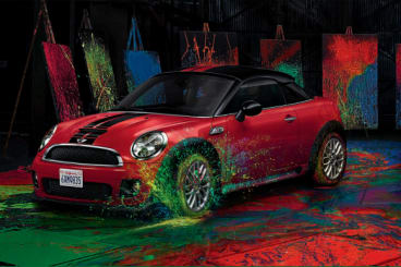 Nearly new MINI Coupe