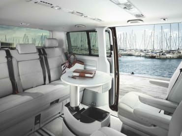 Volkswagen Caravelle Rear Interior