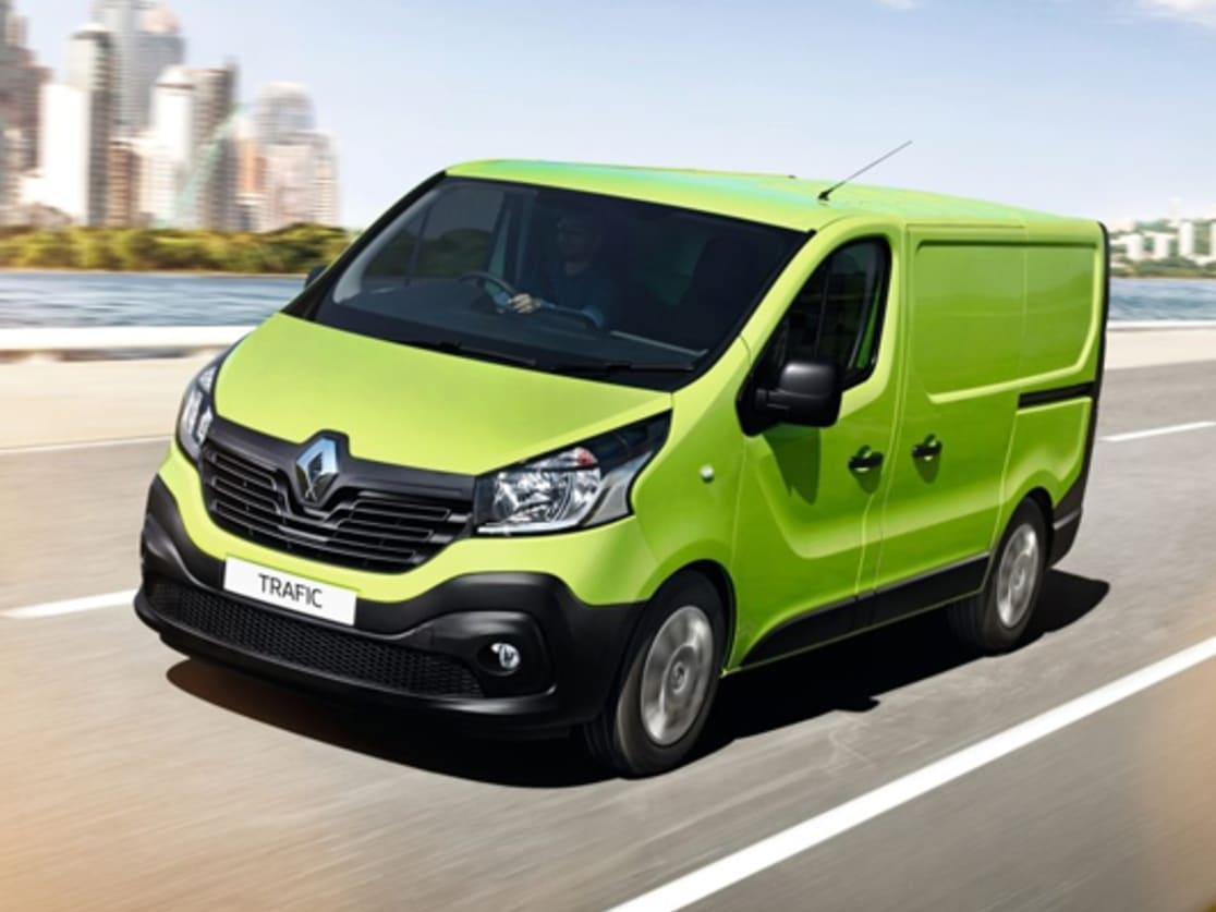 Renault Trafic - a stylish minivan with a commercial vein