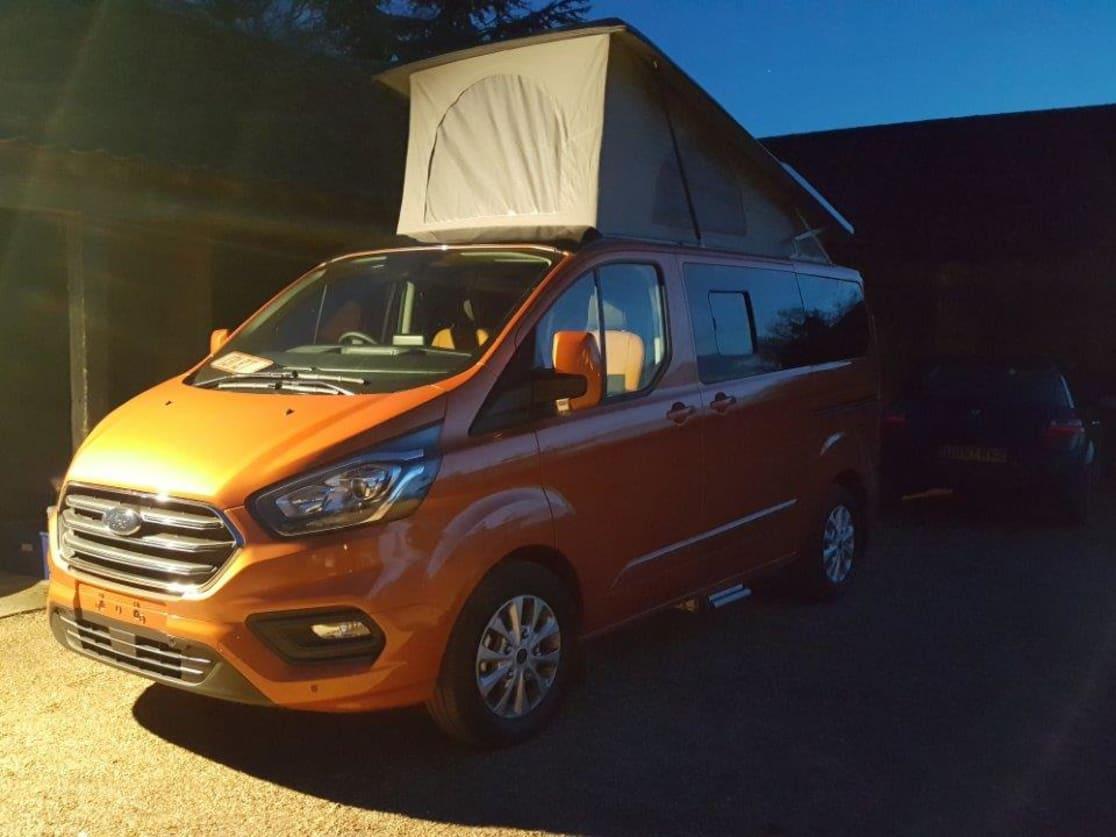 New Ford Terrier Campervan Dealer For Sale 2015 Transit Van Camper Conversion