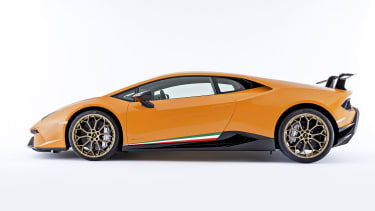Attractive Lamborghini Huracan Performante Coupe