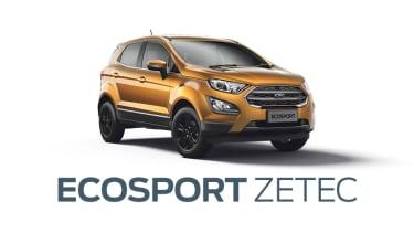 New Ford Ecosport Zetec