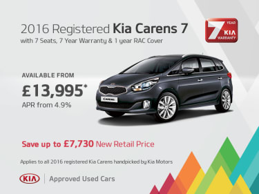 Used Pre Loved Kia Car Offers Coleraine Co Londonderry