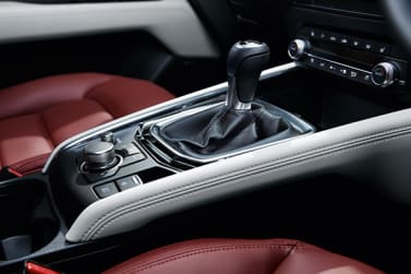 New Mazda 100th Anniversary Edition leather-wrapped gear stick