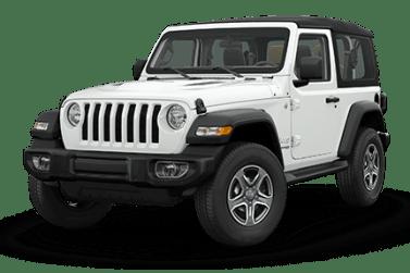 Jeep Wrangler White Exterior