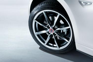 New Mazda 100th Anniversary Edition alloy wheel