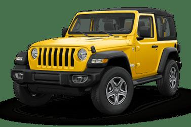 Jeep Wrangler Yellow Exterior