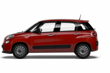 Fiat 500L Red Side Exterior