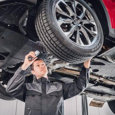 Mazda Serciving
