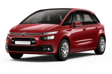Citroen C4 Spacetourer Ruby Red kleur rood