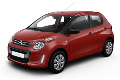 Citroen C1 Scarlet Red