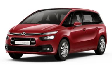Citroen C4 Grand Spacetourer Ruby Red kleur rood