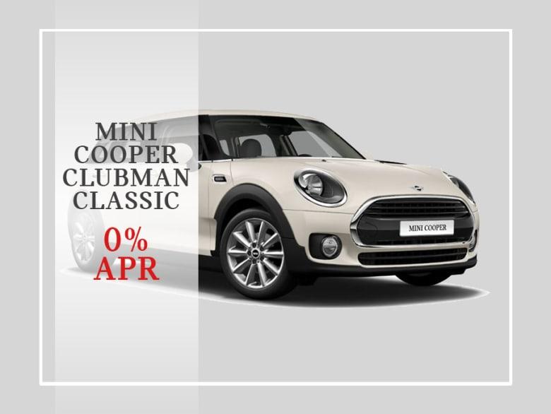 Mini Cooper Clubman Classic Automatic Including 17 Wheel Upgrade