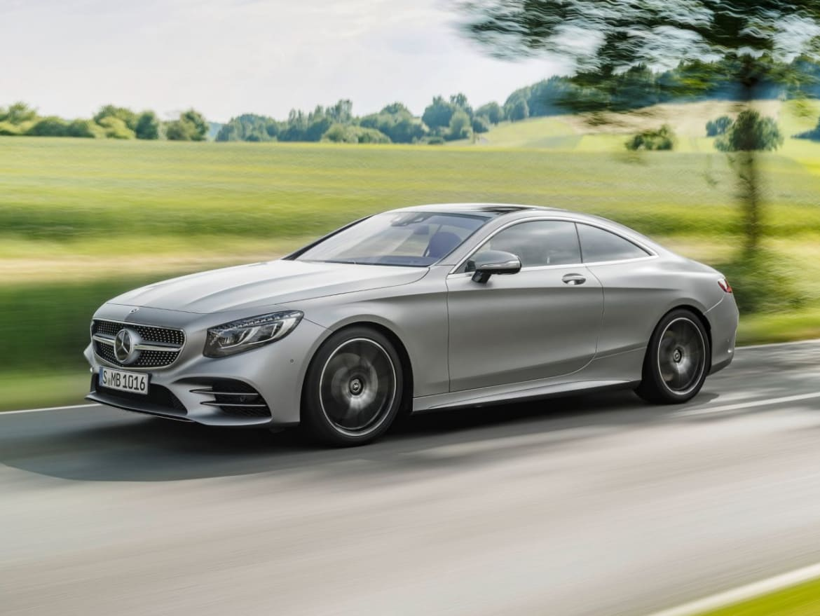 S Class Coupe >> Mercedes Benz S Class Coupe S 560 Amg Line London Mercedes Benz