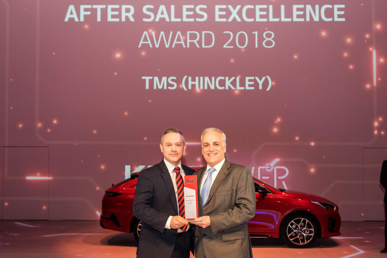 Tms Kia Hinckley Wins Kia Aftersales Excellence Award For