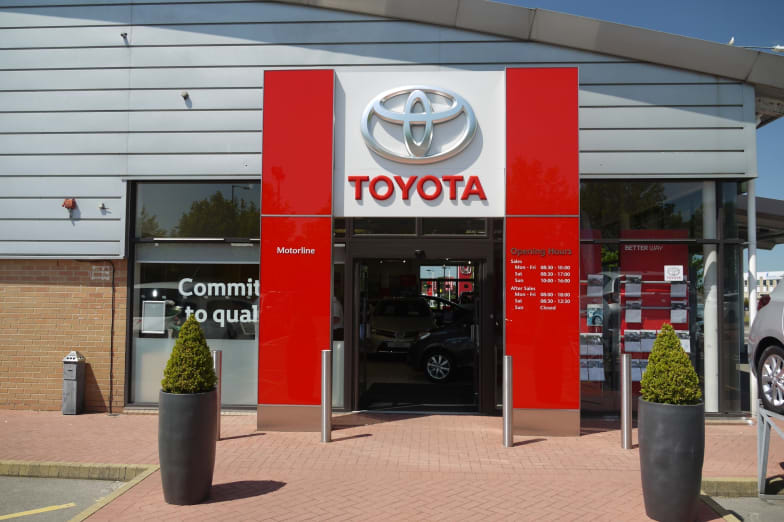 Contact Us In Bristol South Motorline Toyota