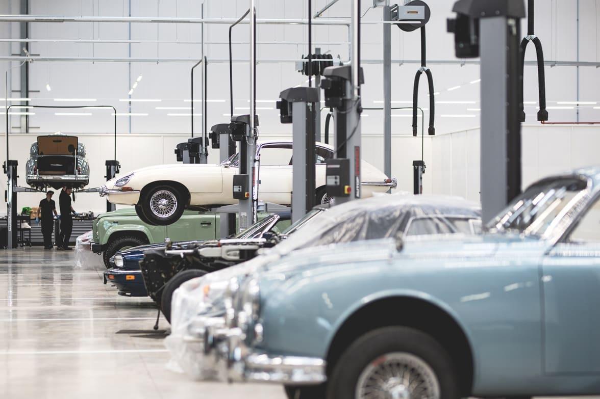 Jaguar Land Rover Classic Car Dealer Works Legends - Classic car search