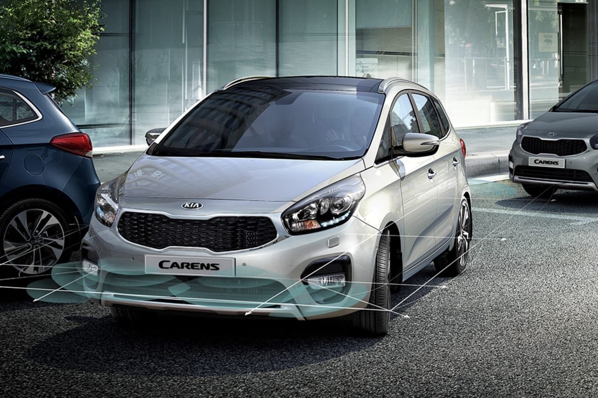 Alongside its unique design, the Carens has a multitude of technologies to  make driving easier, more enjoyable and more efficient.