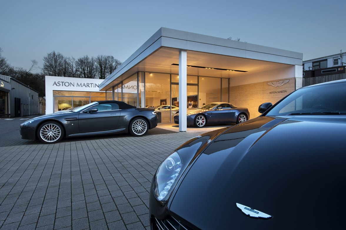 Aston Martin Dealership In Sevenoaks Official Dealers - Aston martin dealerships